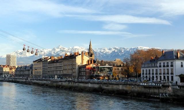 Foto van Grenoble